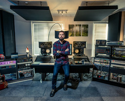 James Lewis mixes Rudimental tracks on SSL Sigma