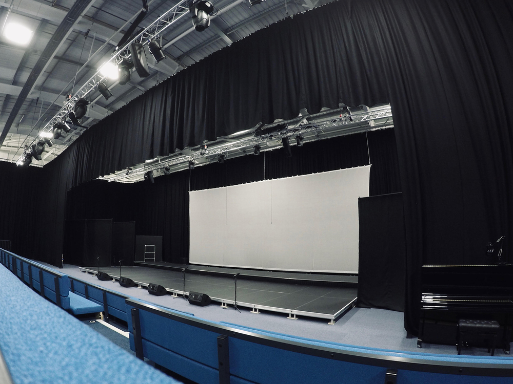 Prime AVLS provides innovative HARMAN solution to Hertfordshire school's new multipurpose sports/performing arts venue