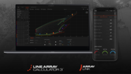 JBL Pro Tour Updates: Line Array Calculator III v3.3.0 & ArrayLink v1.1