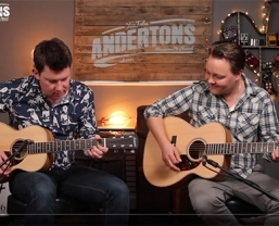Special edition Zebrano Larrivée models featured in latest Andertons 'Acoustic Paradiso' video