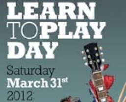 Music for All's 'National Learn To Play Day'