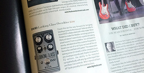 DOD Looking Glass Overdrive included in Guitarist's Gear of the Year