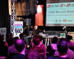 In photos: Sound On Sound Live Sound Basics event