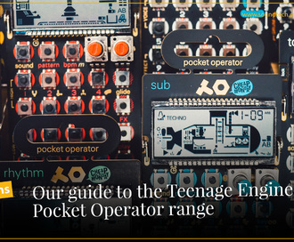 Our Guide to the Teenage Engineering Pocket Operator Range