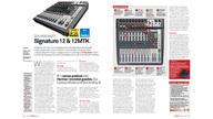 Soundcraft Signature & Signature Multi-Track mixers receive MusicTech 'Choice' & 'Value' awards