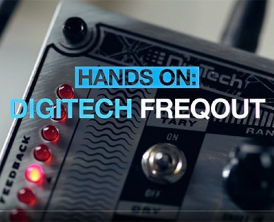 MusicRadar investigate the DigiTech FreqOut Natural Feedback Creator in new video