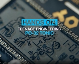 MusicRadar get 'hands-on' with the new Teenage Engineering PO-32 tonic pocket operator