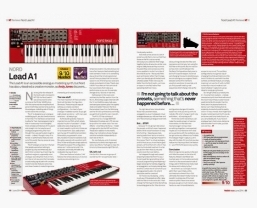 Nord Lead A1 receives MusicTech Choice and Editor's Choice awards