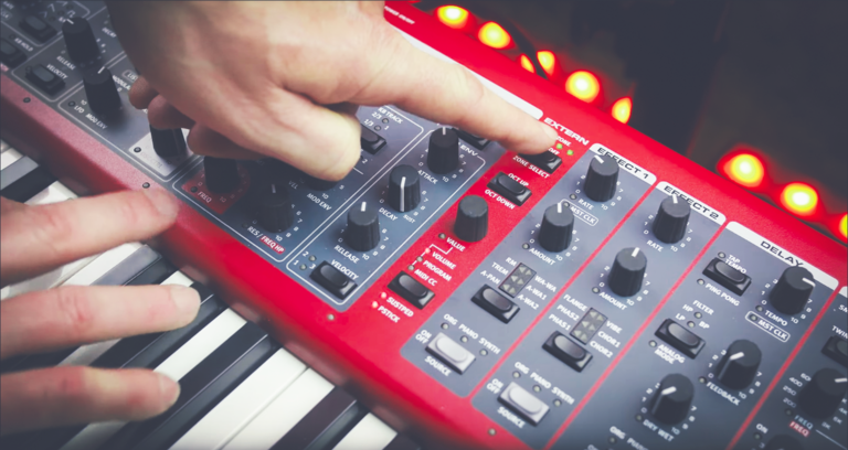 How to control external MIDI devices with the Nord Stage 3's Extern Section