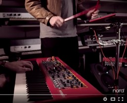 Nord Keyboards publish first in Live Sessions Series from Stockholm factory