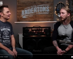 Ola Englund interview with Andertons Music Co now online