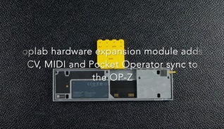 TE oplab module adds MIDI, CV and PO sync to OP-Z