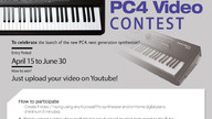 Kurzweil launch PC4 YouTube video contest
