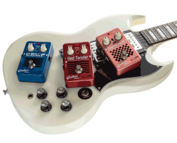 EBS announce Red Label Pedals designed specifically for guitar