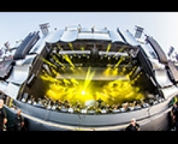 JBL VTX Line Arrays and Crown I-Tech HD Amplifiers for Rock In Rio 2013