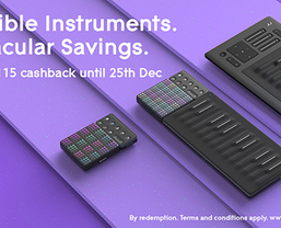 ROLI Extends Cashback promotion until January 31st 2019