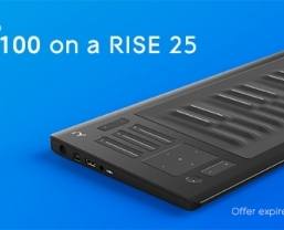 Seaboard RISE 25 just £599 (£100 saving)- extended until Monday!