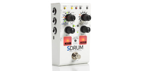 DigiTech announces SDRUM Strummable Drums™ pedal