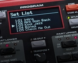 New Nord Sound Manager with Set List support for Electro 5