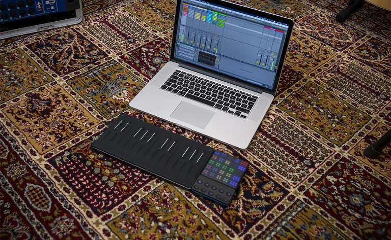 Using ROLI BLOCKS with Ableton Live
