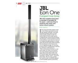 Sound On Sound review the 'classy' JBL EON ONE