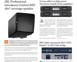 Sound Technology publishes latest HARMAN Installed Audio newsletter