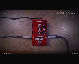 VIDEO: Popular techniques with the DigiTech Whammy Ricochet