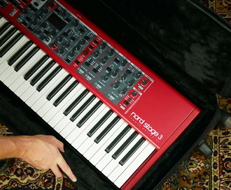 Our Guide to Nord Keyboards soft cases, covers, stands, speakers and pedal accessories