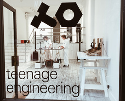 Teenage Engineering pop-up demo space at We Are Robots event in London this weekend