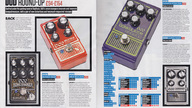Four new DOD pedals reviewed in Total Guitar magazine round-up