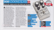 DOD Looking Glass in award-winning Total Guitar magazine review
