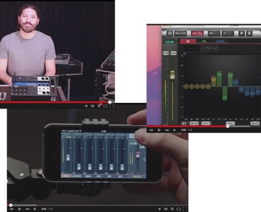 Soundcraft release Ui Series tutorial videos