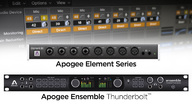 Apogee Ensemble and Element audio interfaces integrate with Logic Pro X to easily eliminate latency