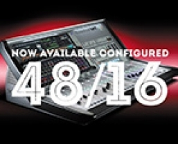 Soundcraft Vi1 now available configured with 48 local inputs