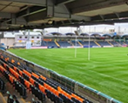 JBL AWC in Worcester Warriors stadium sound upgrade