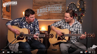 Washburn Heritage & Woodline guitars featured in new Andertons 'Acoustic Paradiso' video
