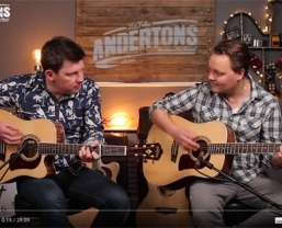Washburn Heritage & Woodline guitars featured in new Andertons 'Acoustic…