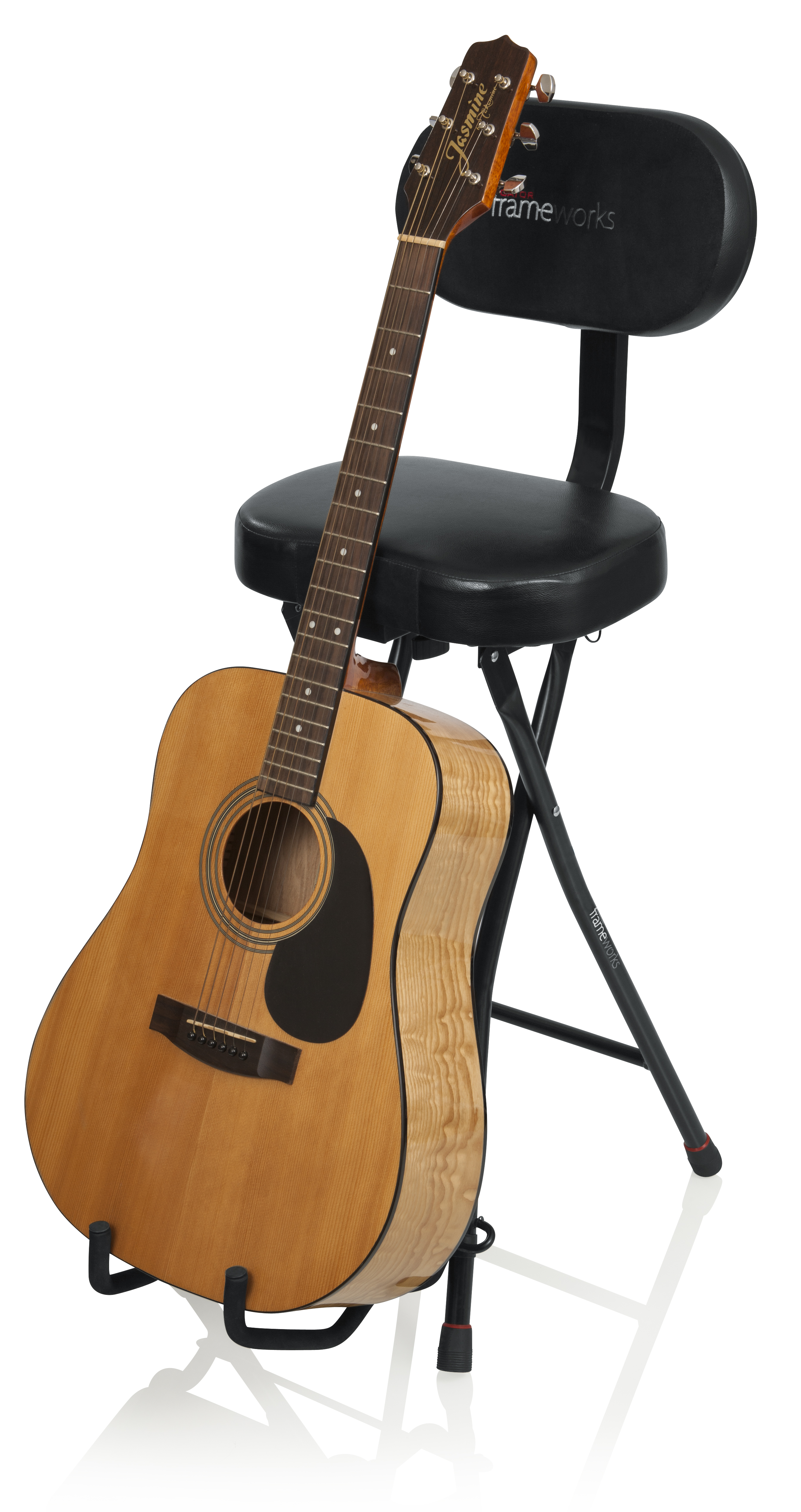 Awe Inspiring Frameworks Gfw Gtr Seat Guitar Seat Stand Onthecornerstone Fun Painted Chair Ideas Images Onthecornerstoneorg