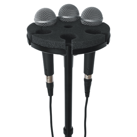 GFW-MIC-6TRAY Multi Microphone Tray Holds 6 Microphones