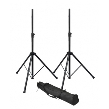 RI-SPKRSTDSET Speaker stand set with carry bag