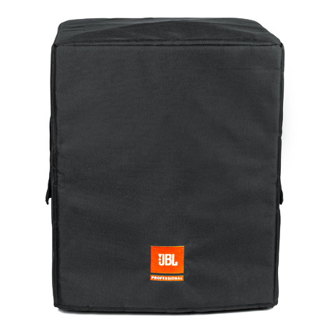Protective Cover for JBL IRX115S Subwoofer