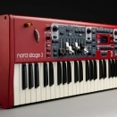 Nord Stage - Upright Drawbars