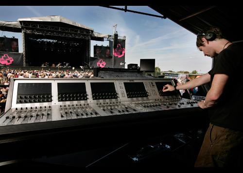Soundcraft Vi6 Lostprophets V Festival
