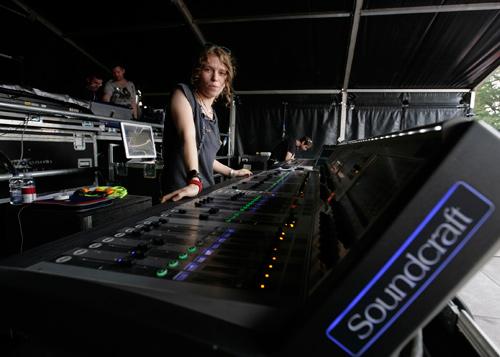 Soundcraft Vi6 Noisettes V Festival