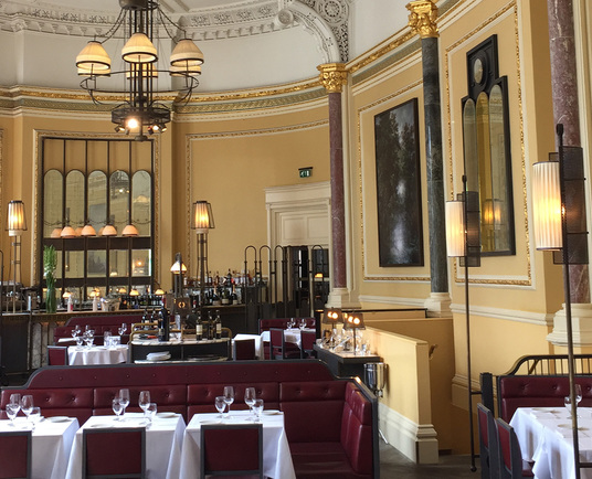 Gilbert Scott restaurant at St Pancras Renaissance Hotel