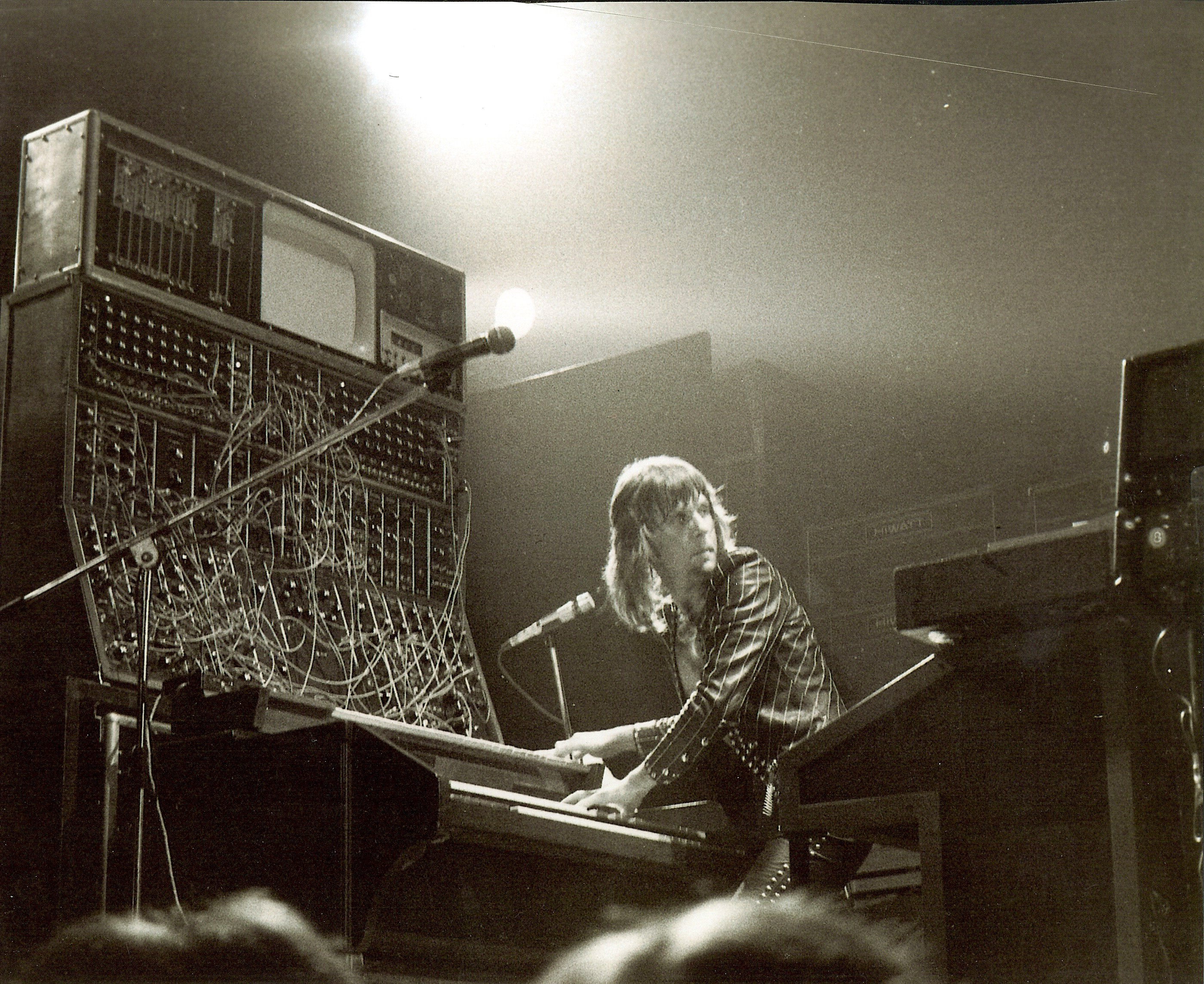 Keith Emerson with an Early Moog Modular System